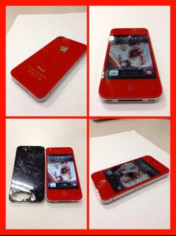 IPhoneカスタム レッド の画像 | Mobile Rescue高知のブログ