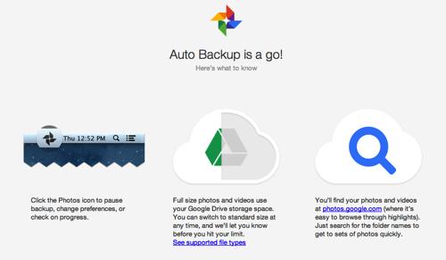 Google+ Auto Backup