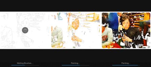 Preview of  これはアート 撮った写真をまるで水彩画のように美しく描き直してくれる iPhone アプリ Waterlogue に感動した