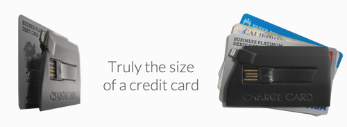 CHARGECARD | iPhone Lightning Cable Credit Card Sized 3