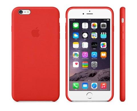 IPhone 6 Plusレザーケース  ブラック  Apple Store  Japan 1