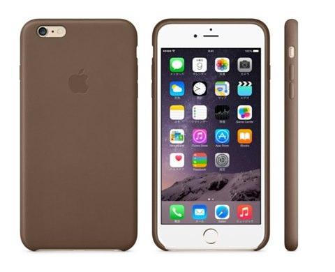 IPhone 6 Plusレザーケース  ブラック  Apple Store  Japan 2