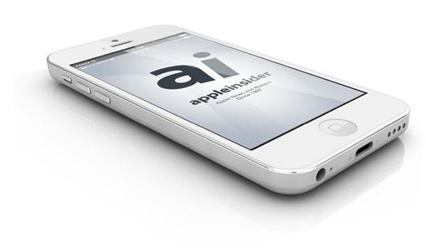 流出した図面をもとに作られた 廉価版iPhone の3Dレンダリング画像