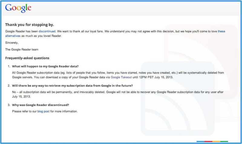 Google Reader  Google 2