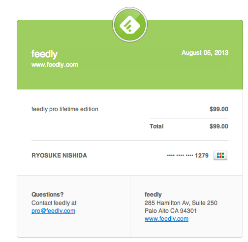 Payment of $99 00 to feedly  donpyxxx gmail com  Gmail