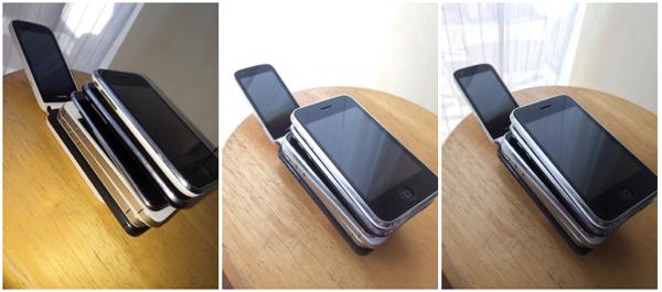 Preview of  iPhone 5s カメラ機能が大幅な進化を遂げています