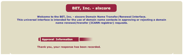 Universal Registrar Transfers