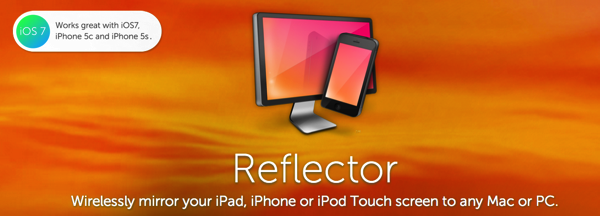 Reflector  AirPlay mirror your iPhone or iPad to any Mac or PC